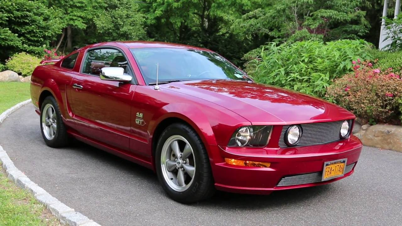2006 ford mustang for saleroush superchargedred on redmint loaded w options youtube