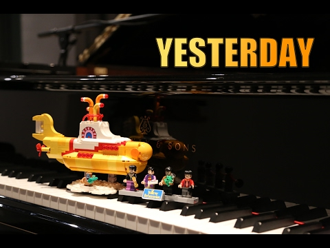 Yesterday - The Beatles -  piano cover