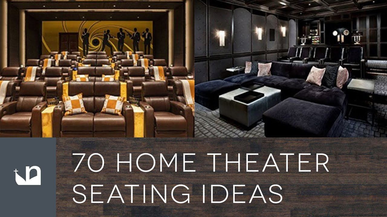70 Home Theater Seating Ideas Youtube