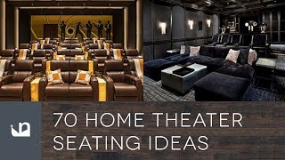 70 Home Theater Seating Ideas