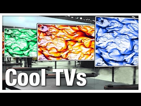 Top 5 Coolest New TVs of 2017