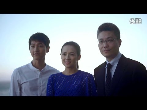 160831 송중기 Song Joong Ki Zhang Ziyi 2016 Proya Making Film 宋仲基章子怡珀莱雅拍摄花絮