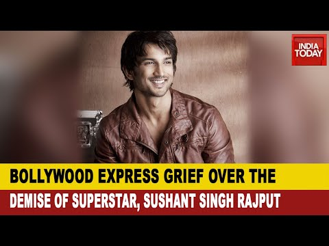 Bollywood Mourns The Death Of The Young Superstar, Sushant S