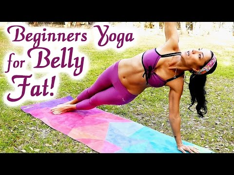 20 Minute Yoga Workout: Bye-Bye BELLY FAT!! Beginners Weight Loss at Home for Abs, Exercise Routine