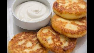 DIY БЕСПЛАТНО, Ароматные сырники со сметаной, вкусно и полезно, СДЕЛАЙ САМ