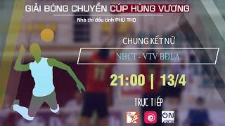 NH CÔNG THƯƠNG vs VTV BĐLA | CHUNG KẾT (NỮ) CÚP HÙNG VƯƠNG 2019 | ON SPORTS