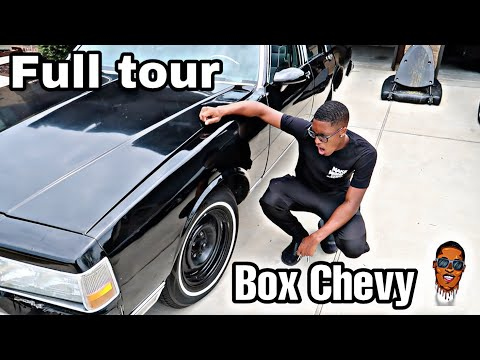 Full Tour Of My New 1988 Ls Box Chevy  Brougham