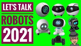 Lets talk Robots EBO SE EBO AIR EMO Robot Pixl Misa Moorebot Scout Vector Cozmo 2.0  Consumer Robots