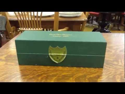 Dom Perignon Champagne, Vintage 1990 Dom Perignon Unopened in Sealed Box