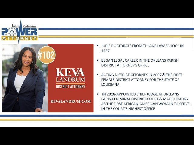 John Redmann: Power of Attorney- Interview with Judge Keva Landrum