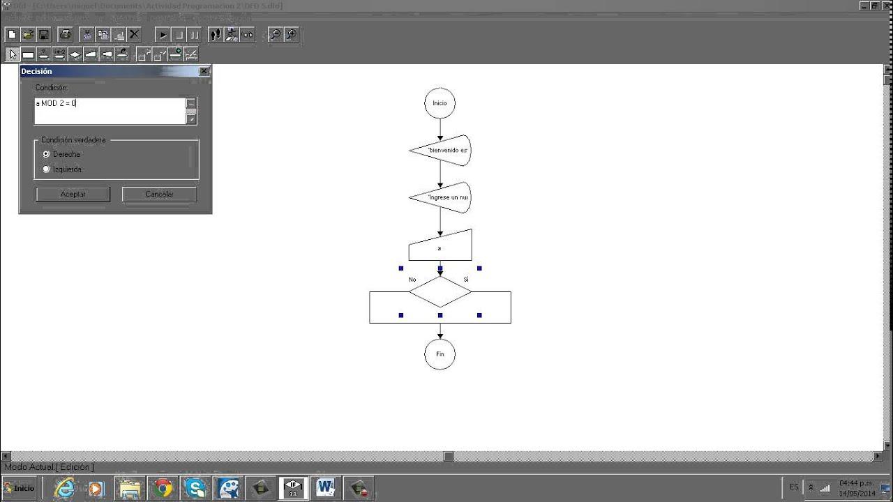 Tutorial dfd que determina si un numero es par o impar youtube tutorial dfd que determina si un numero es par o impar ccuart Image collections
