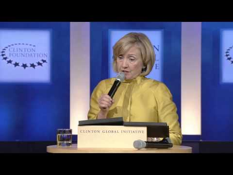 Secretary Clinton Introduces New CGI Calls to Action - CGI 2014 Annual Meeting