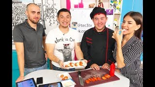 «ТЭЦ-3»: Мастер-класс от повара итальянской кухни