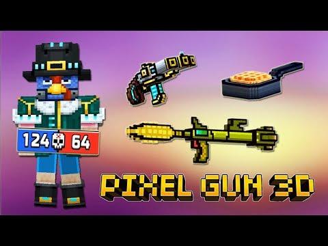 Pixel Gun 3D - Кибер Пилигрим / Cyber Pilgrim SET 2019 (436 серия)