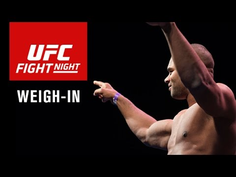 Fight Night Rotterdam: Official Weigh-in