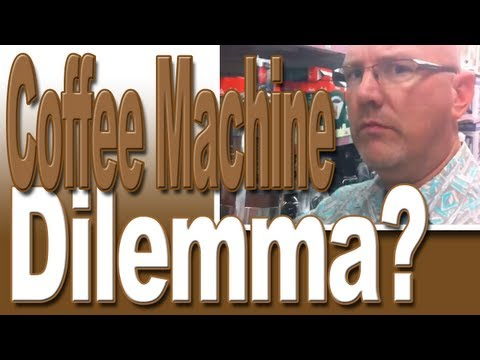 Coffee Maker Dilemma? Vlog