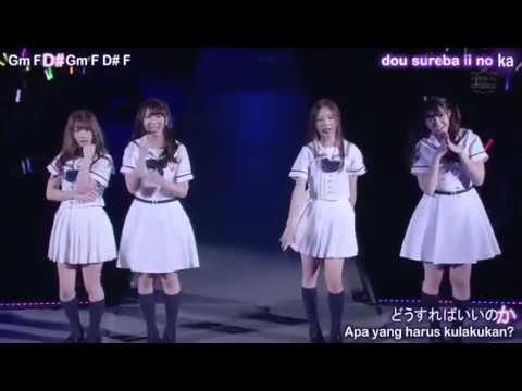 Nogizaka46Senpuuki Lyrics Karaoke + Chords Sub Indonesia