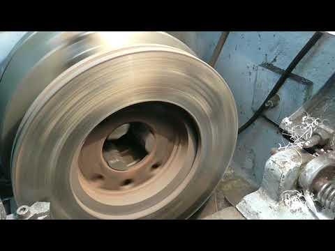 Как проточить тормозные диски?