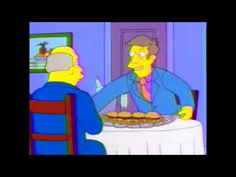 Steamed hams but they're rapping