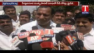 Minister Mallareddy Lays Foundation for Development Works  Telugu