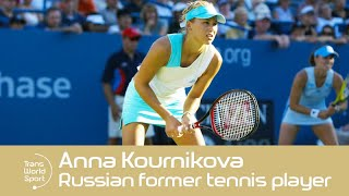 Former Russian Tennis Star Anna Kournikova in 2000! | Trans World Sport