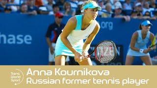 Former Russian Tennis Star Anna Kournikova In 2000!   Trans World Sport