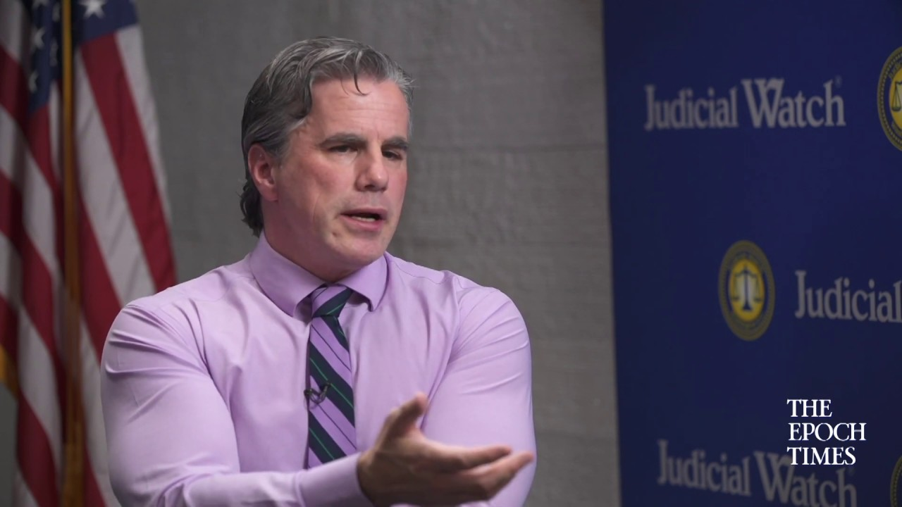 Judicial Watch Tom Fitton: Trump did NOTHING Wrong on Call w/ Ukraine--What is the Deep State Afraid