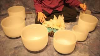 Note B Crystal Bowl Meditation 10 Min