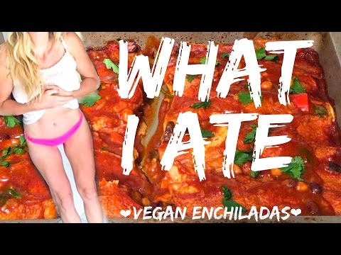 SLIM BODY WORKOUT + WHAT I ATE TODAY (Vegan Enchiladas) [Day 67]