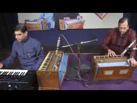 Harmonium playing different songs