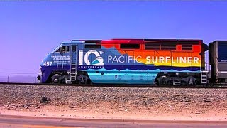 Amtrak Pacific Surfliner Trains in SoCal 2010 - 2012