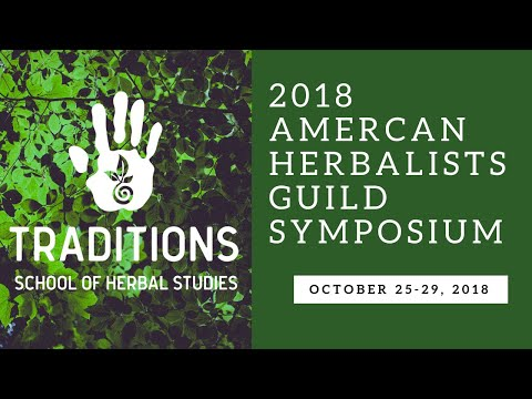2018 American Herbalists Guild Symposium