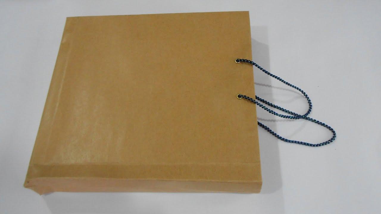 Make the paper bag