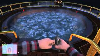 Grand Theft Auto - Weird yacht sink glitch?