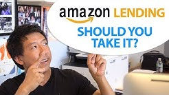 $300,000 AMAZON LENDING LOAN SHOULD I TAKE IT?   AMAZON LENDING REVIEW