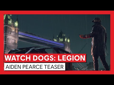 Watch Dogs Legion Aiden Pearce Teaser Youtube