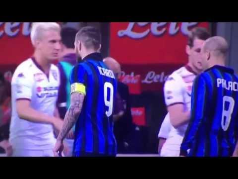 Maxi Lopez refuse Handshake of Mauro Icardi Inter vs Torino 2016