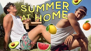 Summer at Home | My Quarantine Routine (A Raw Vlog)