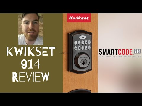 Kwikset Smartcode 914 - Smart Lock Review Video