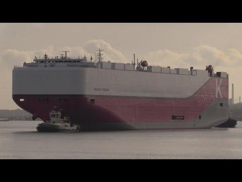 NIAGARA HIGHWAY - Vehicles Carrier (2019) build) inbound to