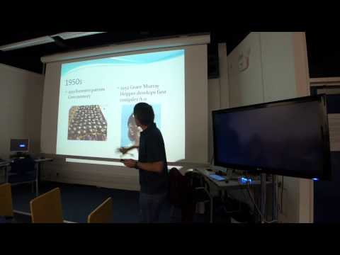Derek Wills - History of Computing - Hull College Christmas Lecture - Part 1