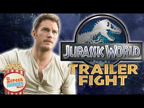 Jurassic World TRAILER FIGHT!!