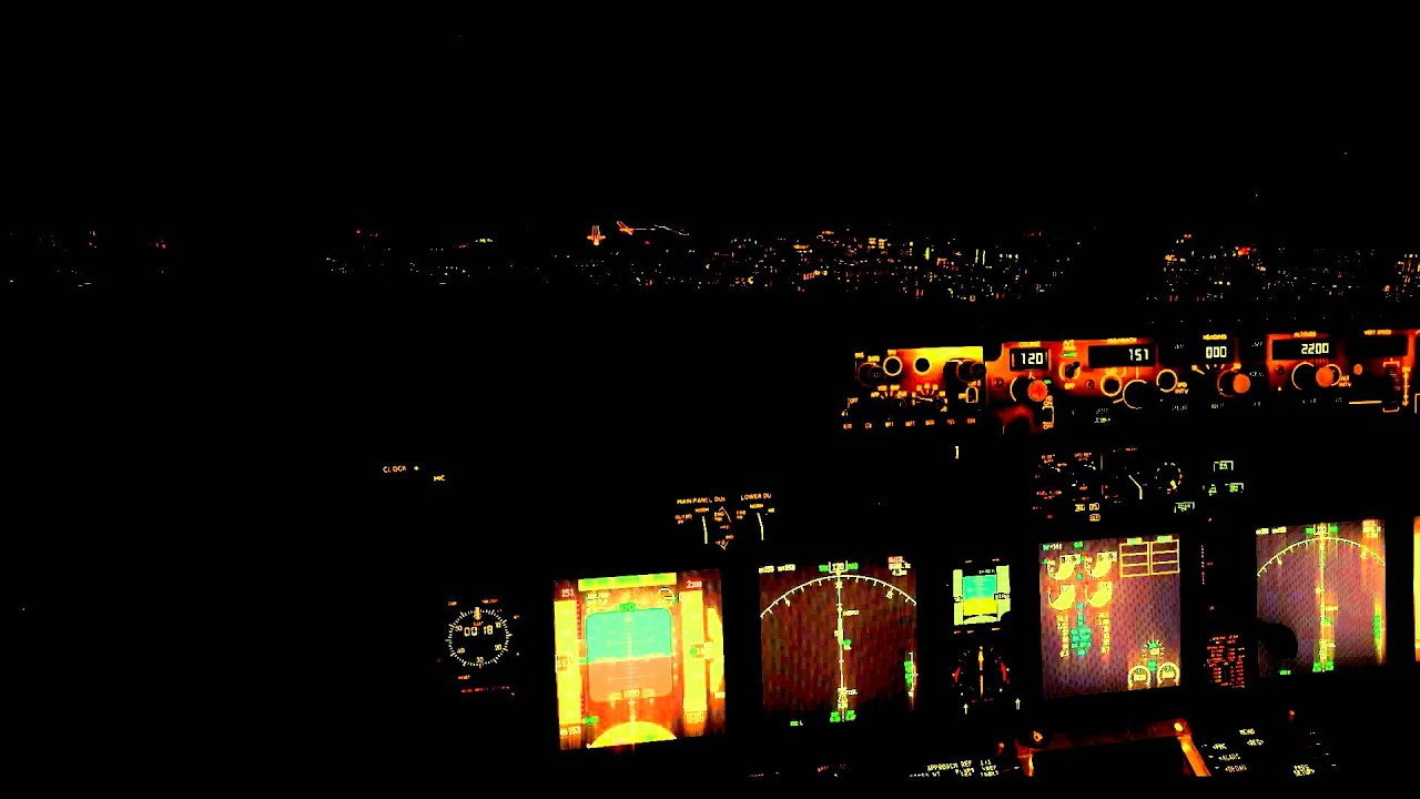 Landing at Dubai CAT III ILS Boeing 737-900NGX Somali Airlines Virtual - YouTube