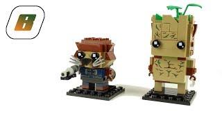 LEGO® - Speed Build - 41626 - BrickHeadz Groot & Rocket -  - review - speedbuild