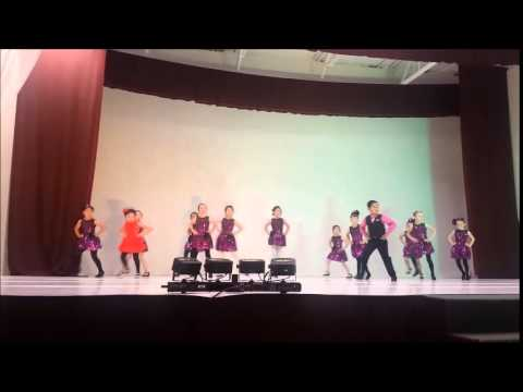 Kids Recital June 2015 - Latin Group #1 - Jive