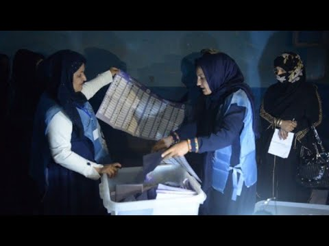 Counting underway in Afghanistan after day of voting