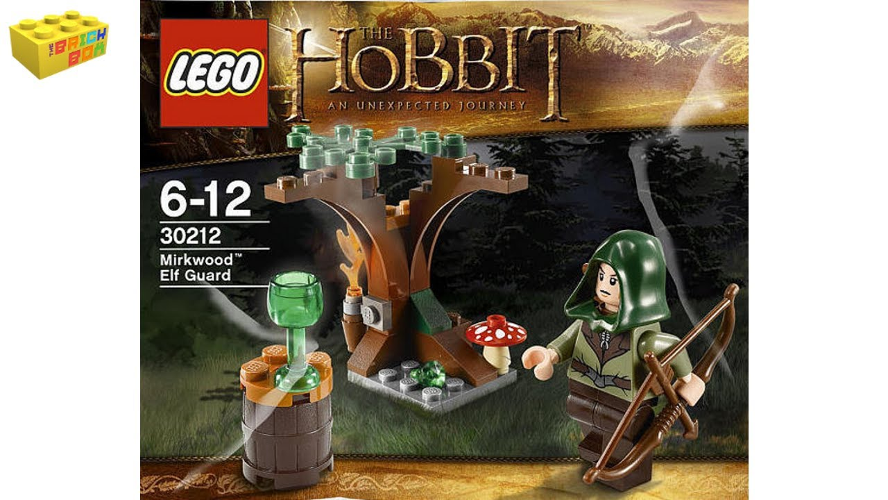 Poly Bag Set LEGO 30212 NEW the HOBBIT Mirkwood Elf Guard