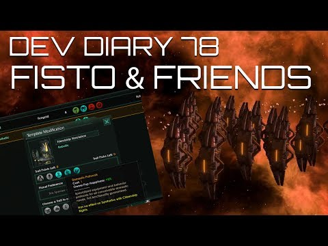 Stellaris Dev Diary #78 - Introducing Fisto and his Robot Friends