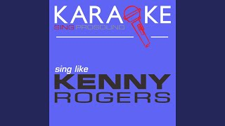 Lucille (In the Style of Kenny Rogers) (Karaoke with Background Vocal)