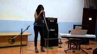Aditi Methi - Blank Page (Cover) - WM Solo Vocals 2014 - 5th Place